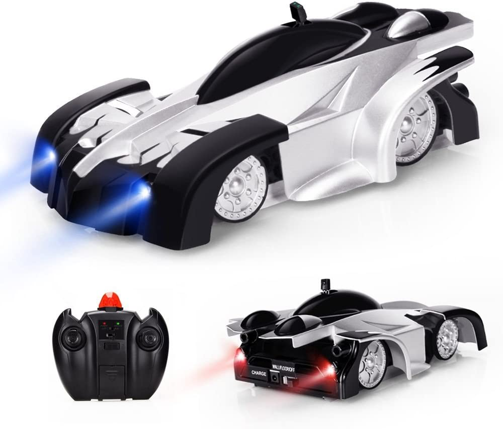 Baztoy Remote Control Car, Kids Toys Wall Stunt RC Car 360°Rotation  Rechargeable Electric Vehicle Children Games Cool Gadgets Gifts for Boys  Girls Teenagers Age 3 4 5 6 7 8 9 10