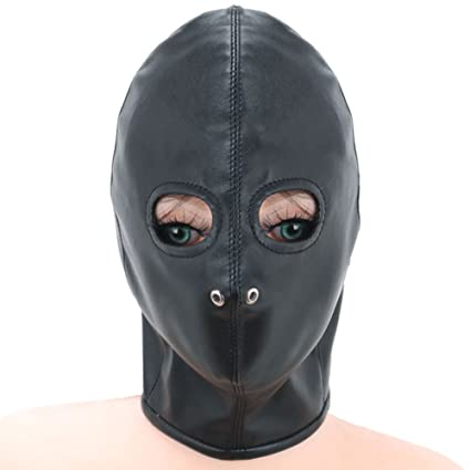 Productos Adultos Hombres Y Mujeres Partido Erótico Juego Rocío Ojo Casco Máscara Cuero Máscara Castigo Pasión