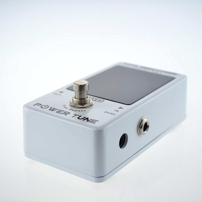 JOYO Power Tune True Bypass Guitarra Eléctrica Sintonizador Bajo y Potencia de 8 puertos Fuente de alimentación Proveedor Efecto: Amazon.es: Instrumentos ...