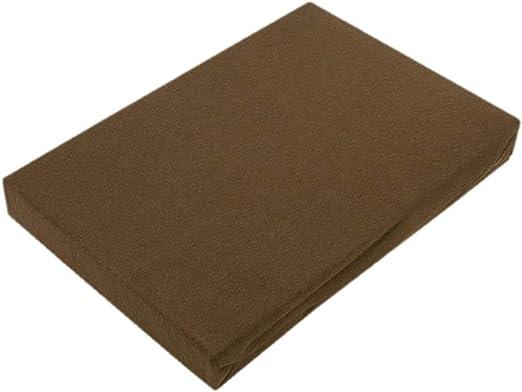 Coton 60 x 120-70 x 140 cm Rosa Drap-housse en jersey de qualit/é sup/érieure avec /élastique