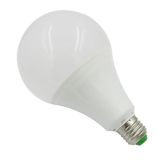 Amazon.com: (6 unidades), E27 Bombilla LED 12 V-24 V AC DC ...