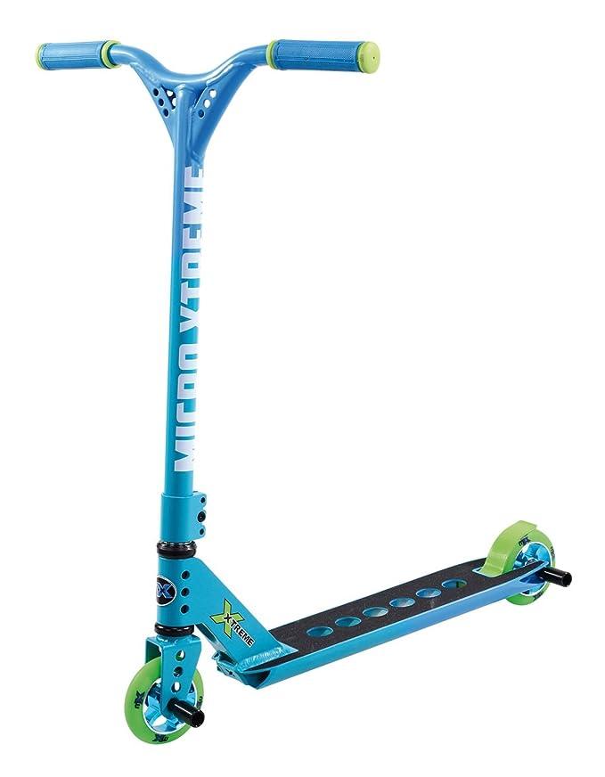Amazon.com: Micro MX Trixx 2.0 Stunt Scooter (Blue): Sports ...