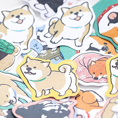 Astra Gourmet 4-pack Super Cute Akita Dog Stickers for DIY Albums Diary Laptop Decoration Cartoon Scrapbooking Kawaii School Office Stationery Best Gift for Your Kids(120 Stickers) 4336987783
