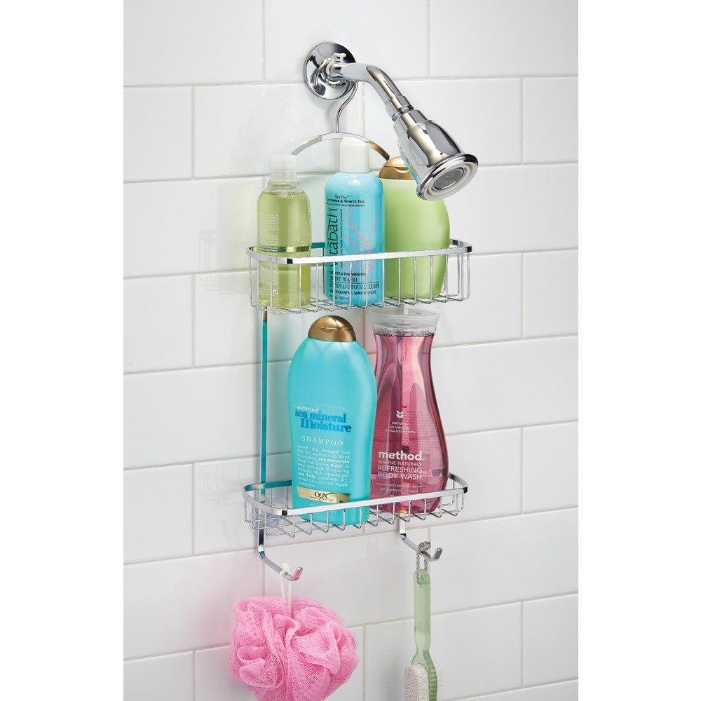 Amazon.com: InterDesign Gia Shower Caddy - Bathroom Storage Shelves ...