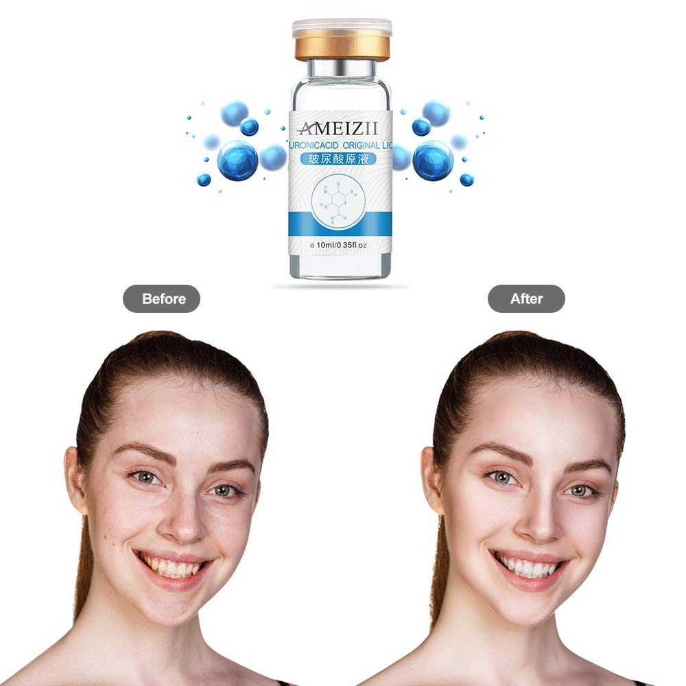 AMEIZII 10ml Hyaluronic Acid Serum Serum Moisturizer For Skin Color Brightening Essence Liquid by Anself (Image #4)