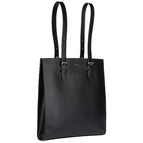 594eac1fb45e67 Fendi borsa uomo a mano shopping tote pelle nero: Amazon.it: Scarpe e borse