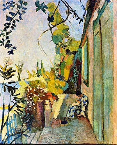 - Henri Matisse The Terrace of Paul Signac at Saint-Tropez 1904 Isabella Stewart Gardner Museum Boston 30