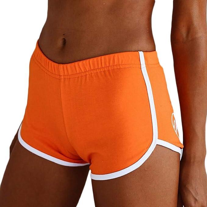 Wamvp Pantalones Cortos para Correr para Mujeres ...