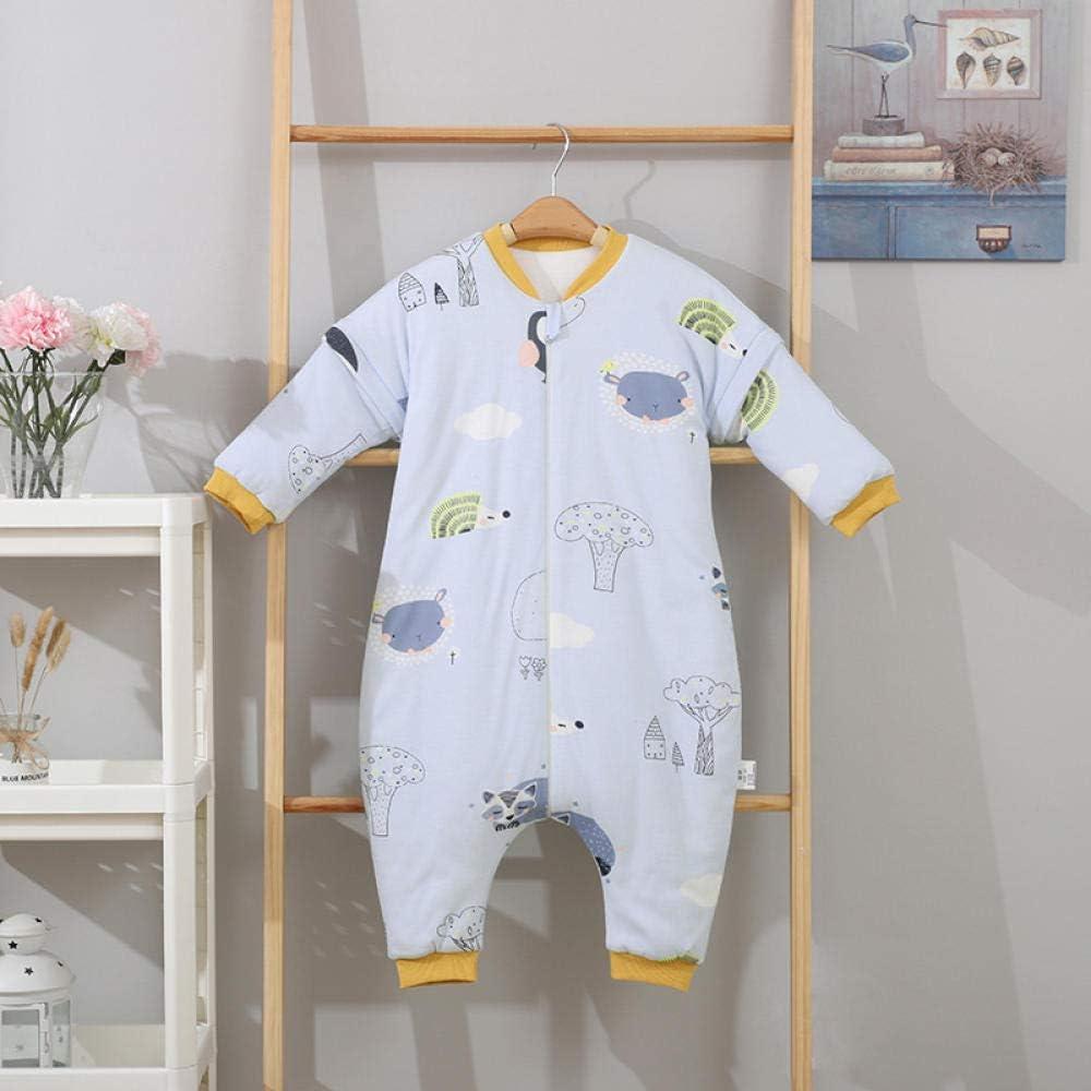 nohbi Recién Nacido Manta Envolvente,Saco de Dormir de algodón para bebé, Gasa de otoño e Invierno Dividida Anti Patada para bebé, árbol de la casa_80cm,Saco de Dormir Swaddle: Amazon.es: Hogar