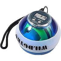 Gyro Ball, Pols Trainer Auto Start Force Ball, Pols- En Onderarmtrainer, Armversterker met Digitale LCD-teller En LED…
