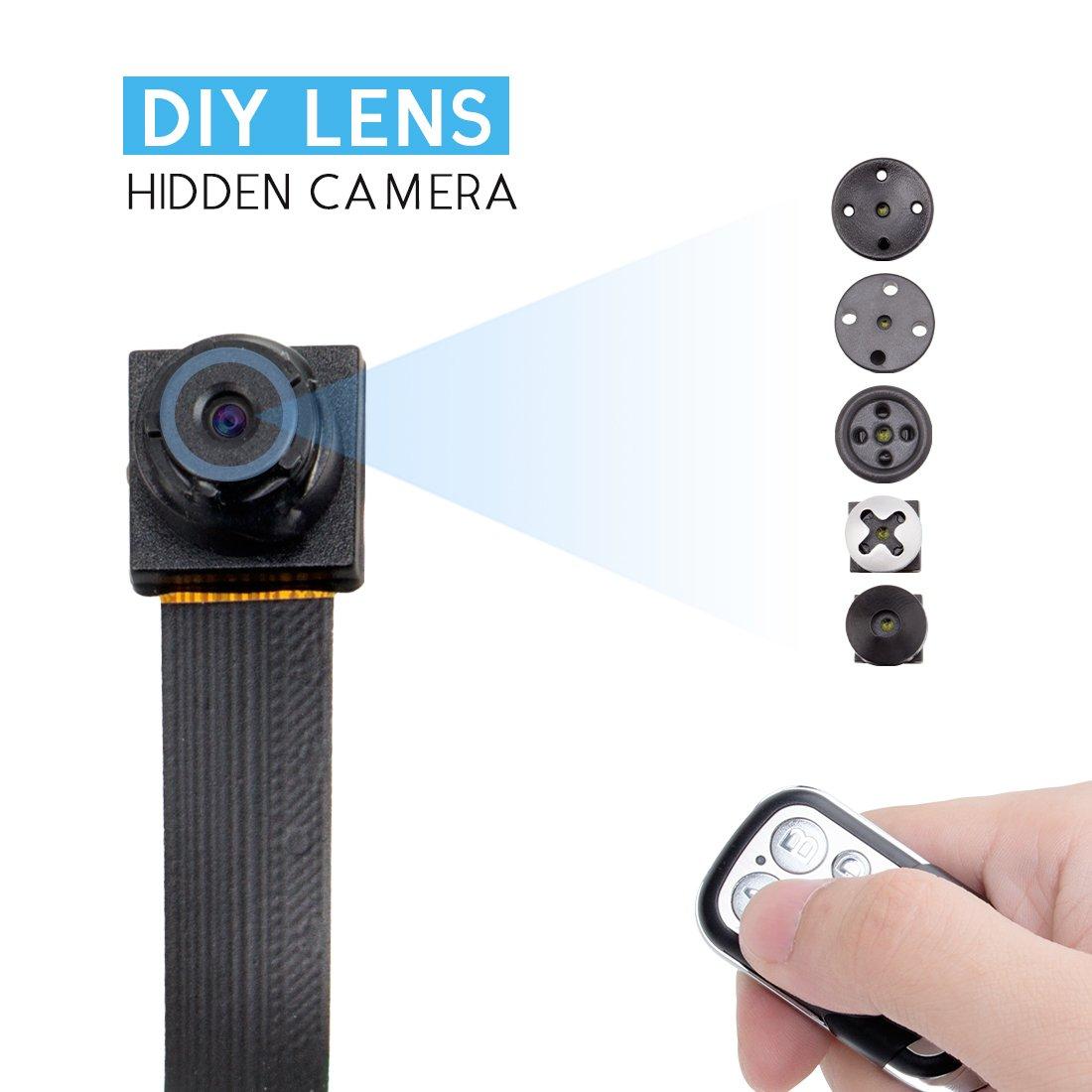 1080 HD Screw Spy Hidden Video Micro Nanny Pinhole Camera