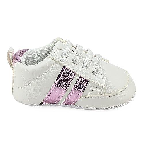 Bebé Recién Nacido Niño Pequeño Bebé Niña Zapatos para Caminar por ...