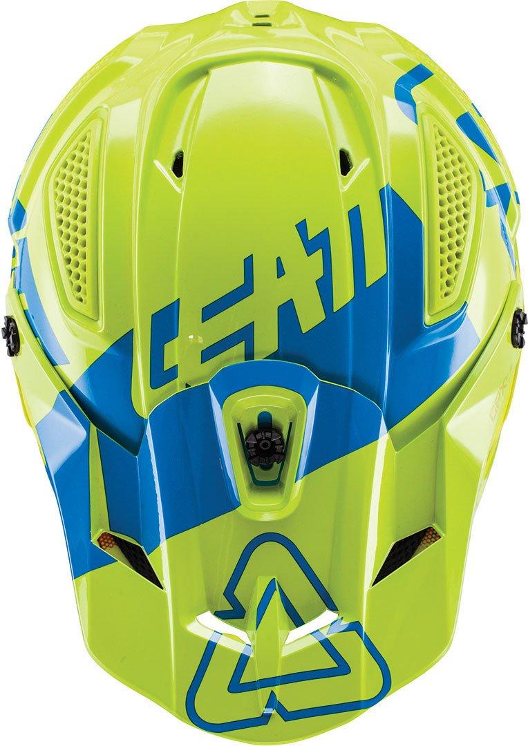 color azul Leatt GPX 5.5/compuesto V15/casco de Motocross
