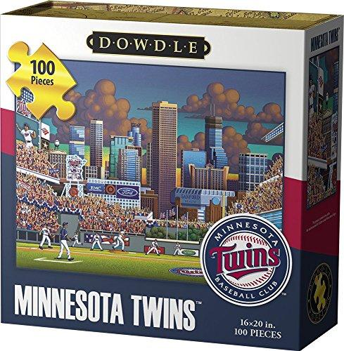 Out Jigsaw Puzzle 100 Pc (Jigsaw Puzzle - Minnesota Twins 100 Pc By Dowdle Folk Art)