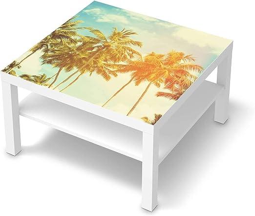 creatisto Möbel Tattoo passend für IKEA Lack Tisch 78x78 cm I Möbelsticker Möbel Sticker Aufkleber Folie I Innendekoration für Esszimmer, Wohnzimmer