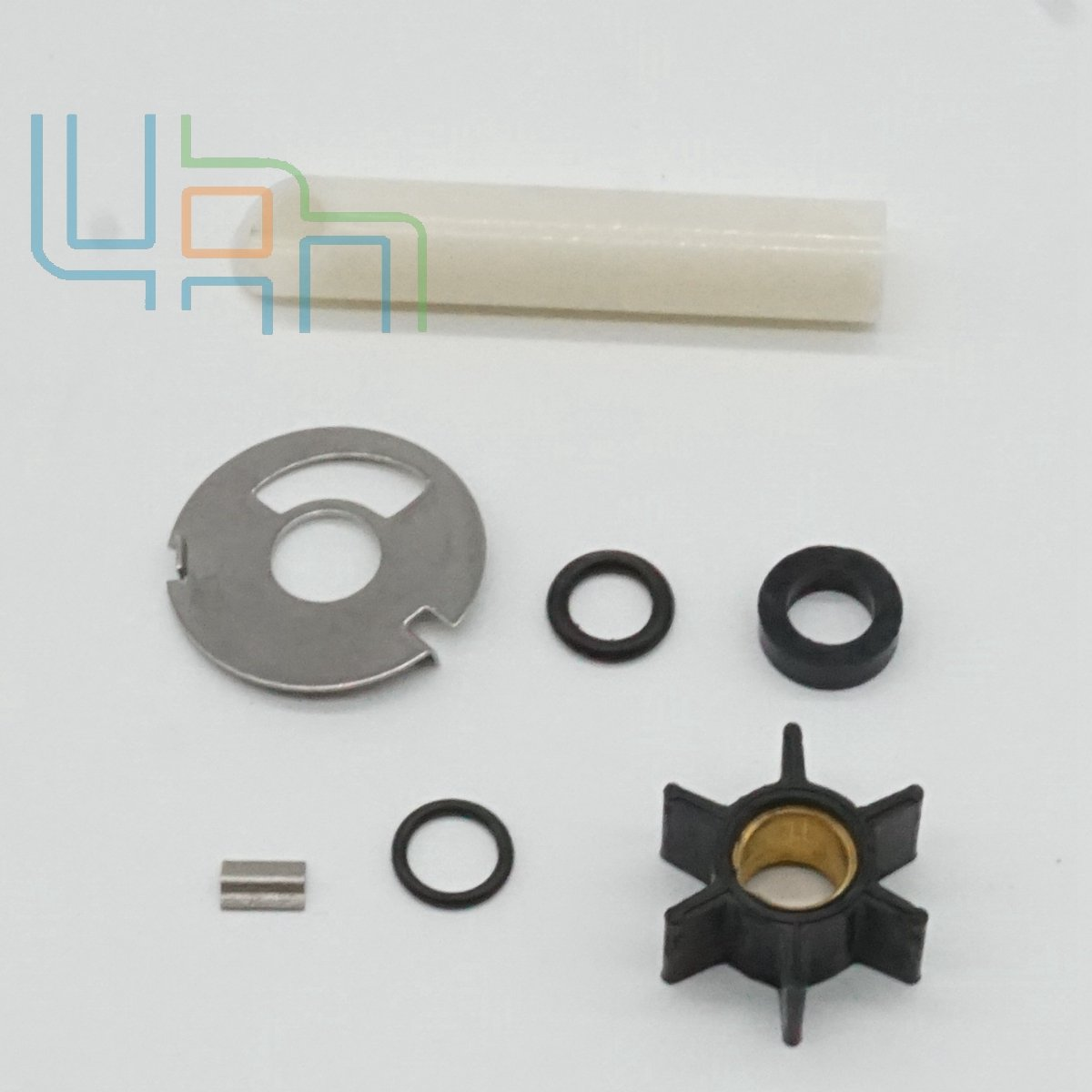 uanofcn Water pump repair kit for MERCURY 4 7.5 9.8HP with 0.456 ID 47-89981Q1 47-89981T1 by uanofcn