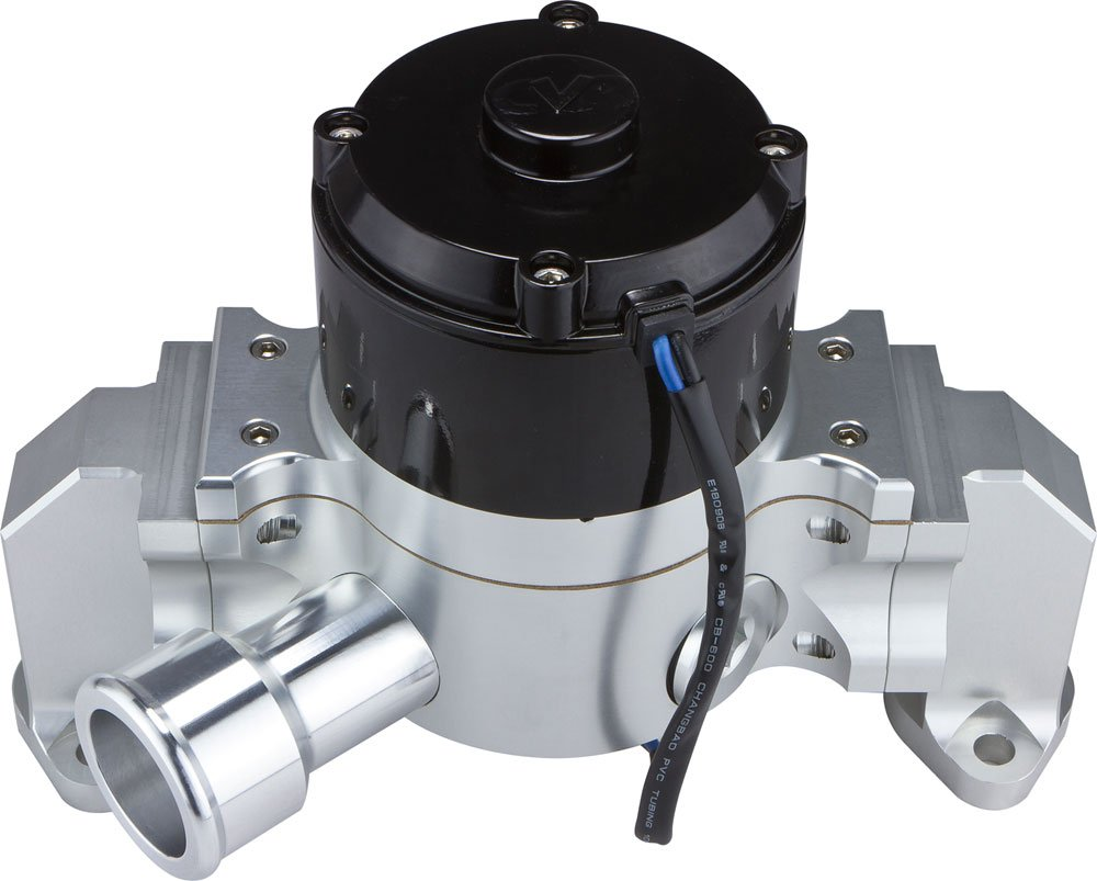 CVR Performance 8550CL Clear Billet Aluminum Electric Water Pump