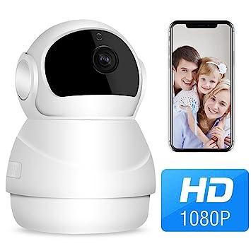 Cámara de Vigilancia 1080P para Bebe, Domo Cámara IP Wifi, Mejor Domo Cámara Interior
