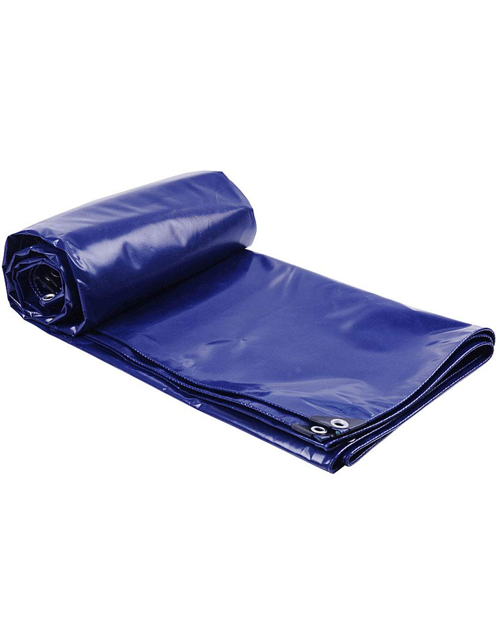 DLewiee BÂche imperméable portative légère pour Toutes Les activités de Plein air Tente de Camping 16 × 20 recouverte d'œillets renforcés Bleu foncé  6m5m