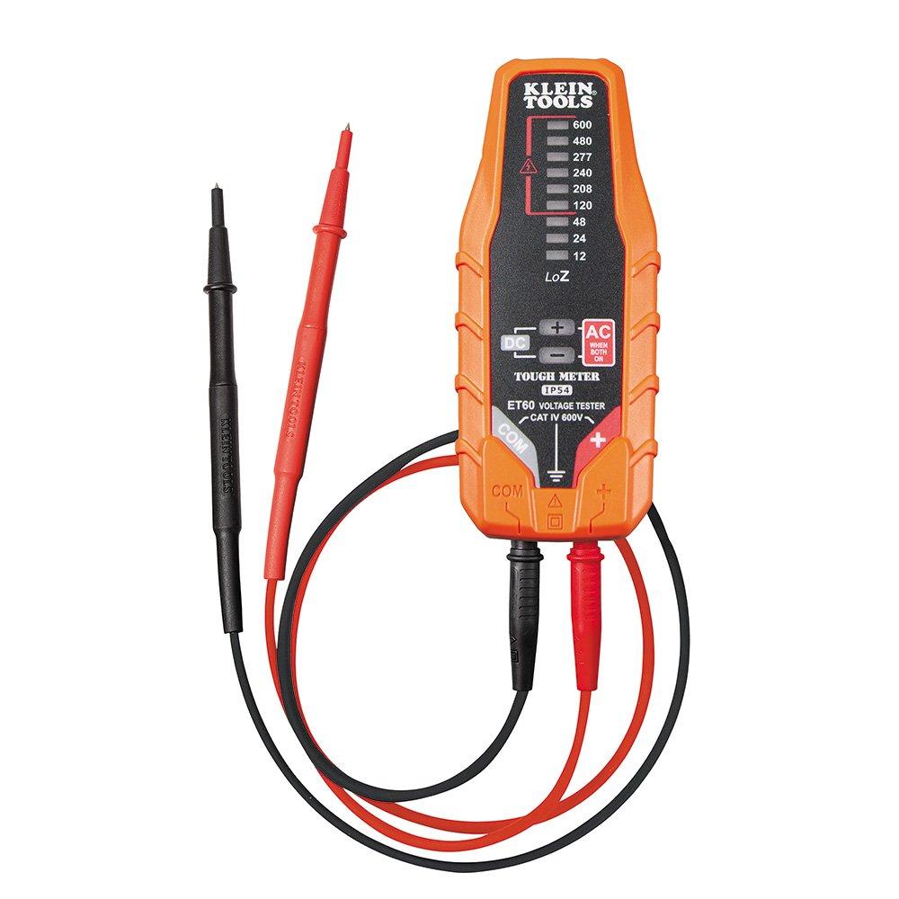 Electronic AC/DC Voltage Tester Klein Tools ET60