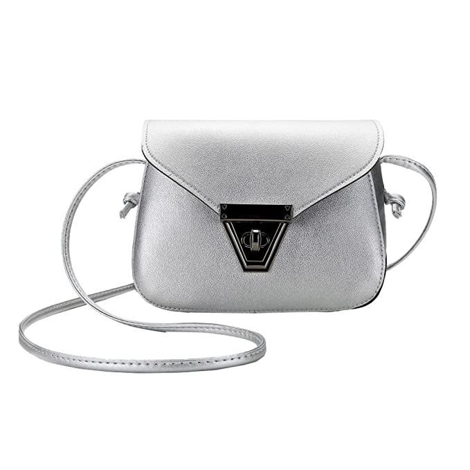 ae787a18e OULII Cute Mini Purse Fashion PU Leather Shoulder Diagonal Bag Sling Bag  All-match Crossbody
