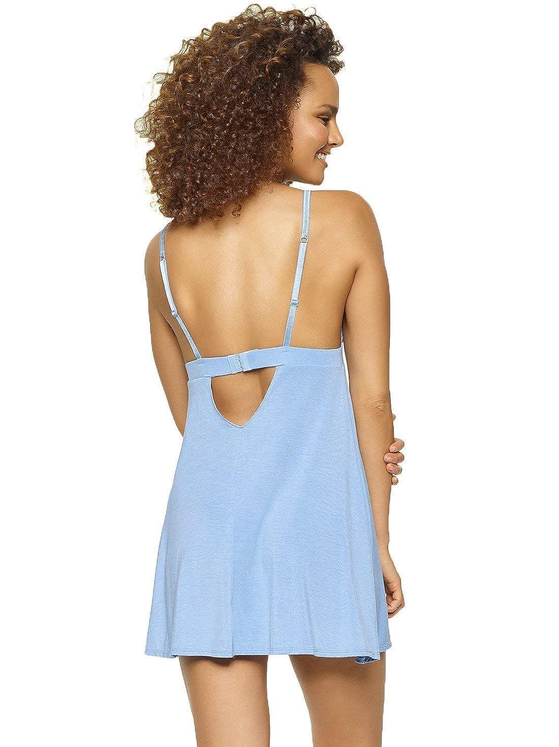 12d573fb7104 Jezebel Women's Demure Chemise at Amazon Women's Clothing store: