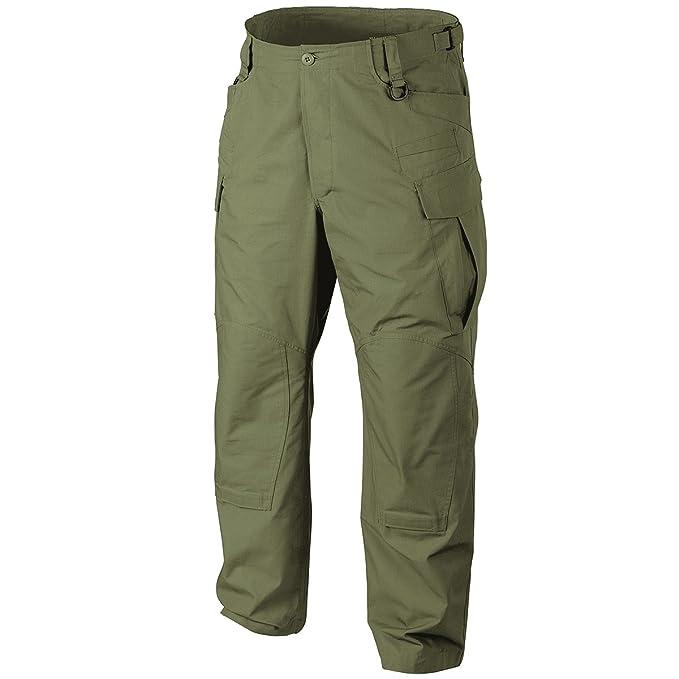 Helikon SFU NEXT Hombres Pantalones Polialgod/ón Ripstop Oliva Verde