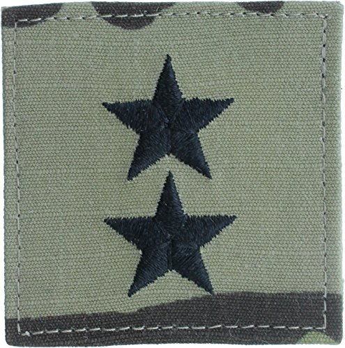 Authentic Military Rank Insignia US Made (Major General - MultiCam) (General Rank Insignia)