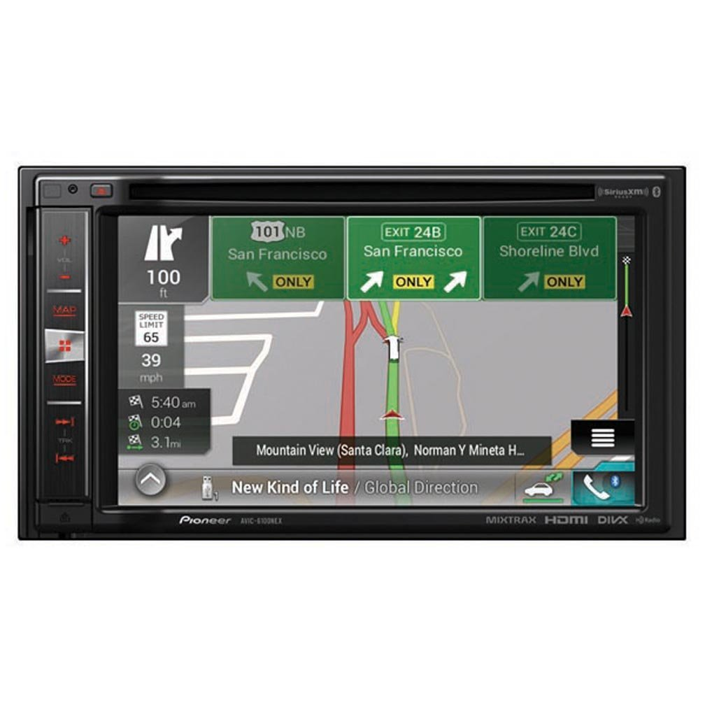 "Amazon.com: Pioneer AVIC-6100NEX in-Dash Navigation AV Receiver with 6.2""  WVGA Touchscreen Display: Cell Phones & Accessories"
