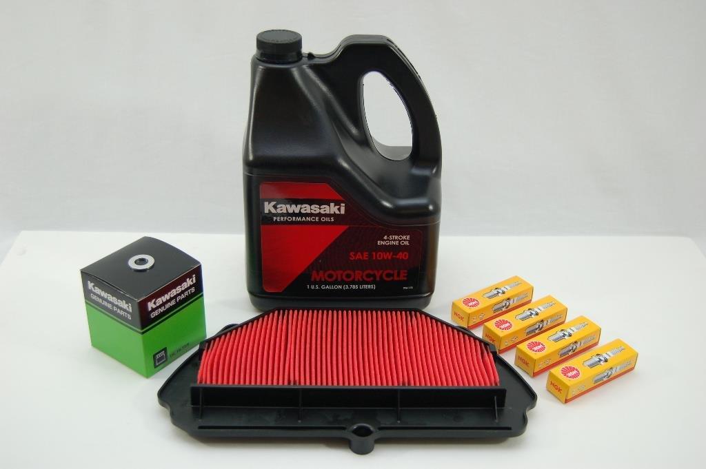 Amazon com: Kawasaki OEM Tune Up Kit ZX6R 09-14 Ninja