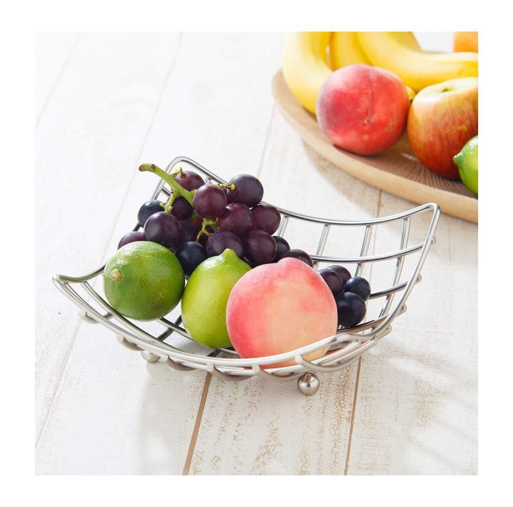 My-JUAN.97 Fruit Bowl- Fruit Basket Metal Wrought Iron Fruit Plate Fashion Fruit Dish Simple Fruit Tray Comport -Fruit Basket
