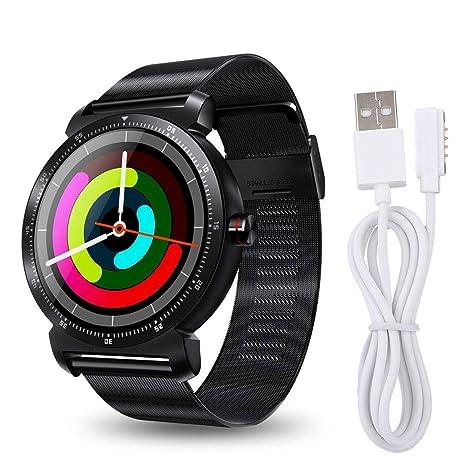 Amazon.com: ASHATA Business Smartwatch 1.3 Inch IPS ...