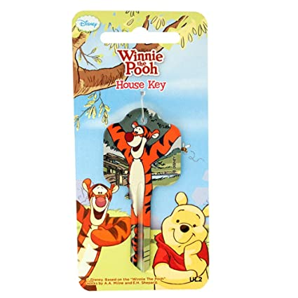 Winnie The Pooh Tigger UL2 Llave cilíndrica en Blanco ...
