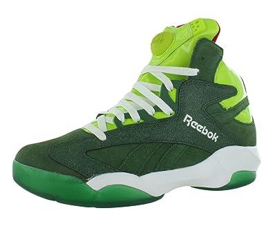 87e5dfc1ebb18 Reebok Shaq Attaq Basketball Shoes For Men - Green Size 9 D(M) Us ...