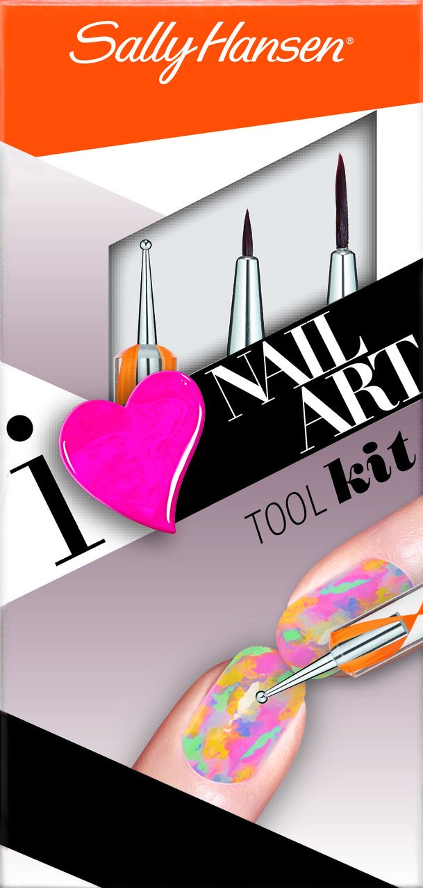 Amazon.com : Sally Hansen Nail Art Tool Kit Tools, 450 : Beauty