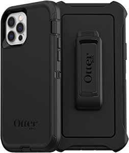 OtterBox Defender Series SCREENLESS Edition Case for iPhone 12 & iPhone 12 Pro - Black (77-65901)