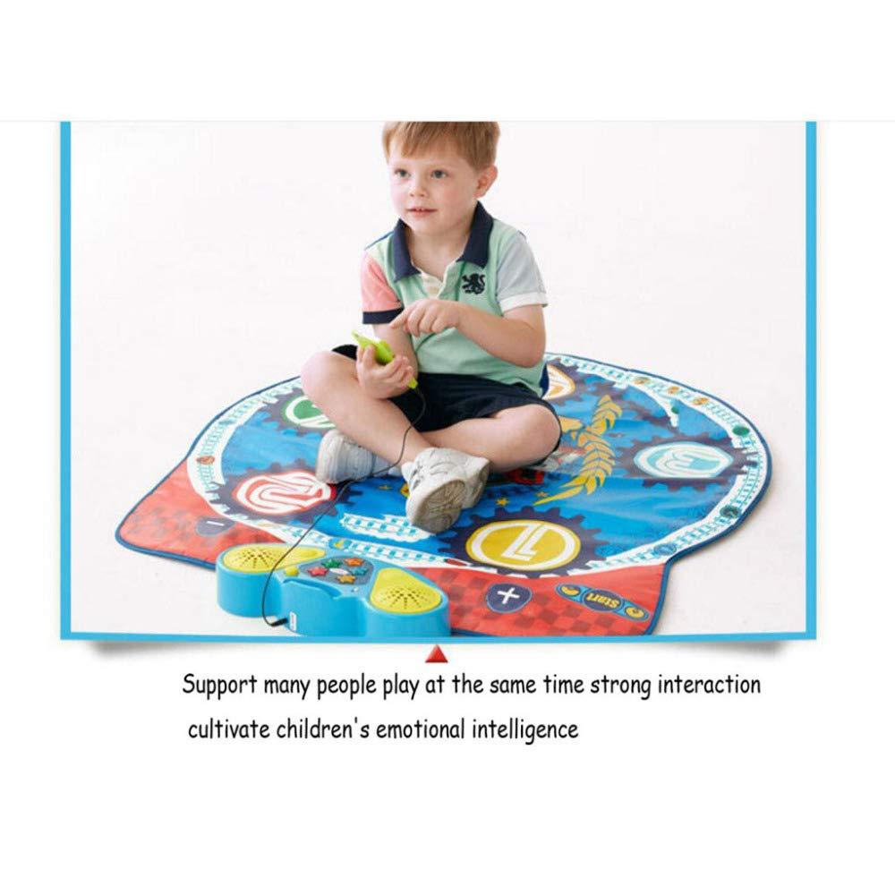 QXMEI Children's Early Education Toy Dance Mat Music Foot Dance Mat 9193 cm by QXMEI (Image #3)
