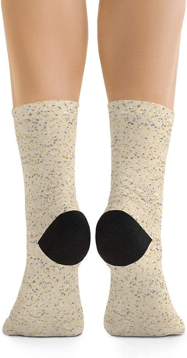 Snow Little Dots Mix Vanilla Custard DTG Socks
