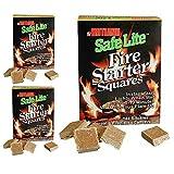 Safe Lite Fire Starters - 144 Squares (3 Pack)