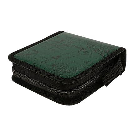 Estuche para Almacenamiento de CD DVD Discos Caja Protectora ...