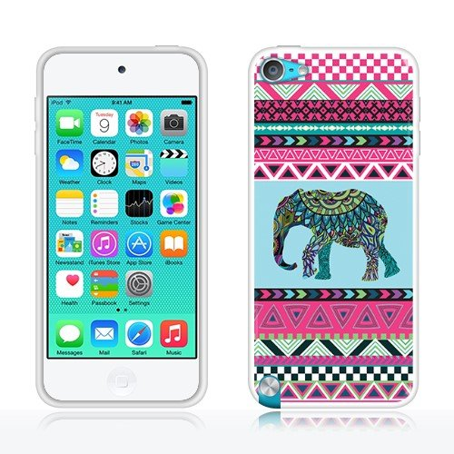 Apple iPod Touch 5 (5th Generation) iPod Touch 6 (6th Generation) Case, Fincibo (TM) TPU Silicone Protector Cover