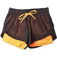 beautyjourney Shorts Deportivos para Mujeres Pantalones Cortos