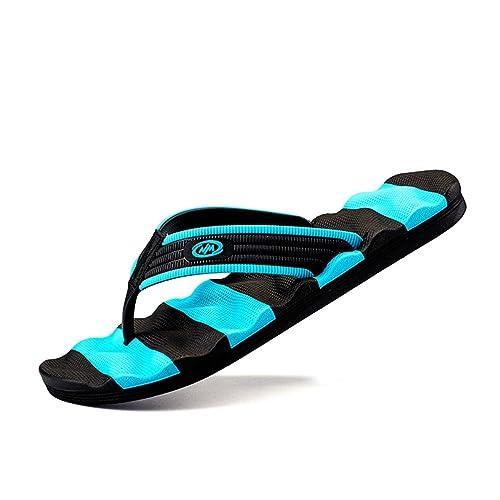 Herren Flip Flops Sommer Lässig Flachen Sandalen Schuhe für