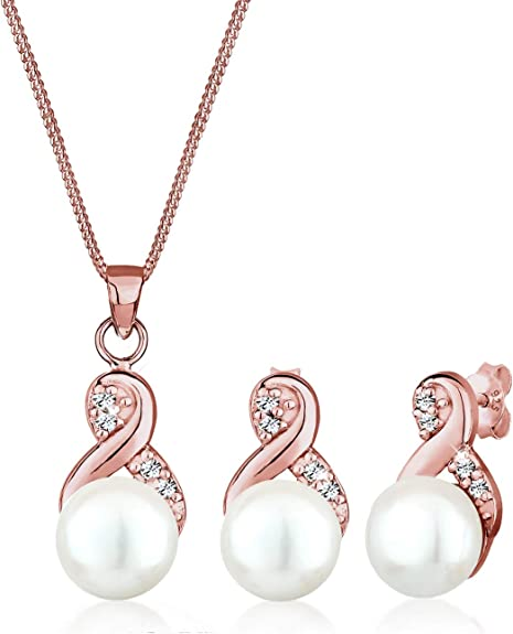 Boucles dOreilles Femme Elli Argent 925//1000 Cristal Swarovski avec Symbole Infini