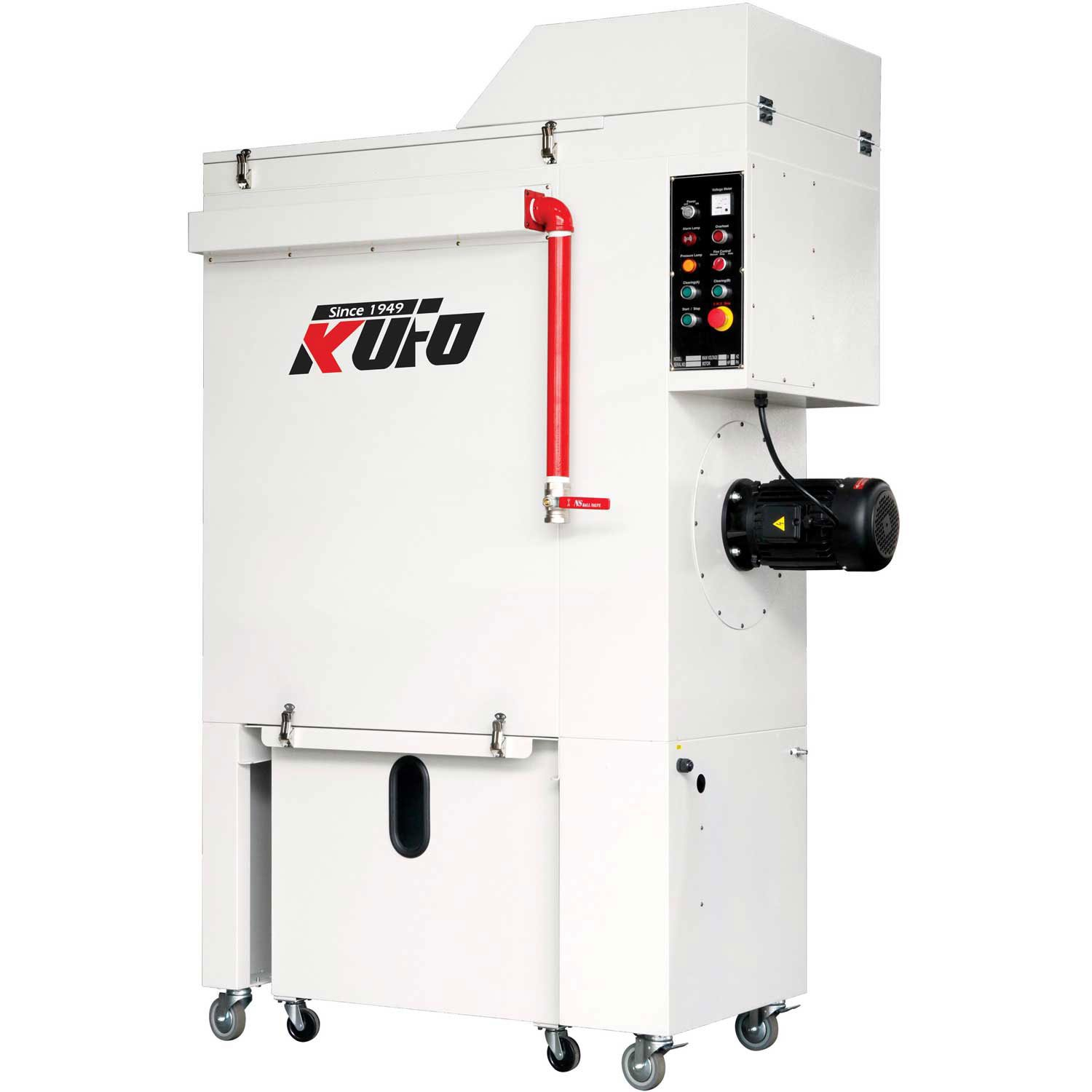 Kufo Seco UFO-LS500 5HP 2649 CFM 3 Phase 220V Total Enclosed Automation Work Station Dust Collector