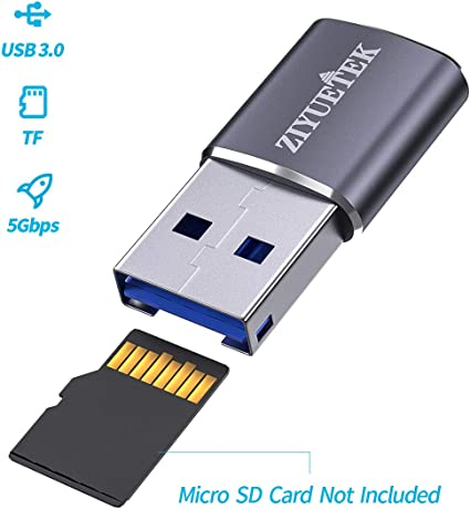 New USB 3.0 Super Speed 5 Gbps Memory Card Reader Adapter 4 TF SD MS miniSD M2