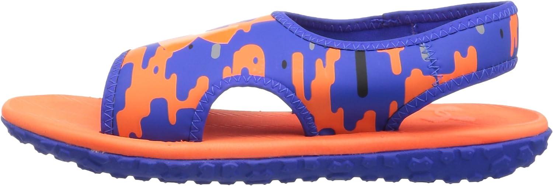 Under Armour Unisex-Youth Boys Pre School Fat Tire II Slide Sneaker