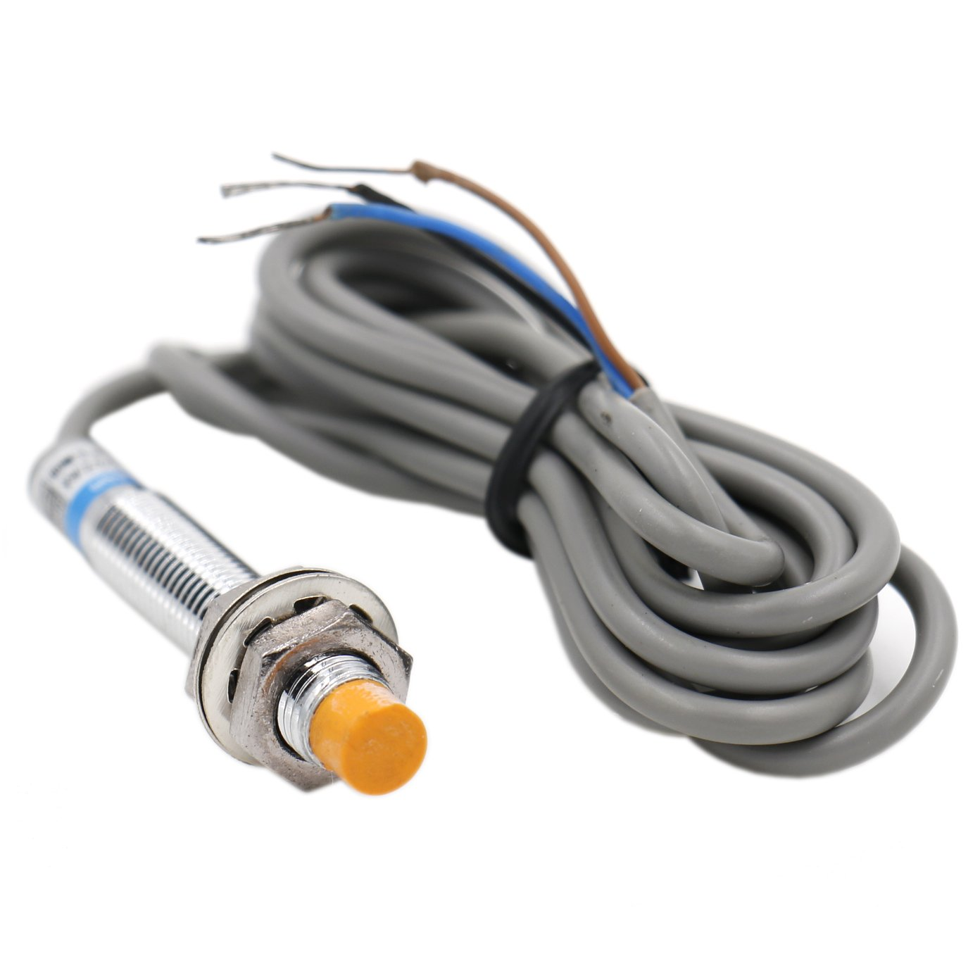 Heschen inductive proximity sensor switch LJ8A3-2-Z/AX detector 2 mm 6-36 VDC 200mA NPN normally closed(NC) 3 wire Heschen Electric Co.Ltd HS-LJ8A3-2-Z/AX