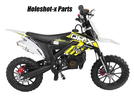 Amazon com: SYX MOTO Holeshot-X Kids Mini Dirt Bike Parts