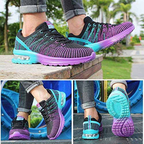 Athletic Mesh Sneakers Walking Comfortable Woman Outdoor Sport Lightweight Up Breathable Running Jogging Shoes Shoes Wafalano Lace w6RgqPyZ